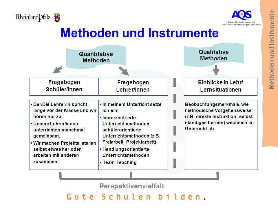 Methoden und Instrumente