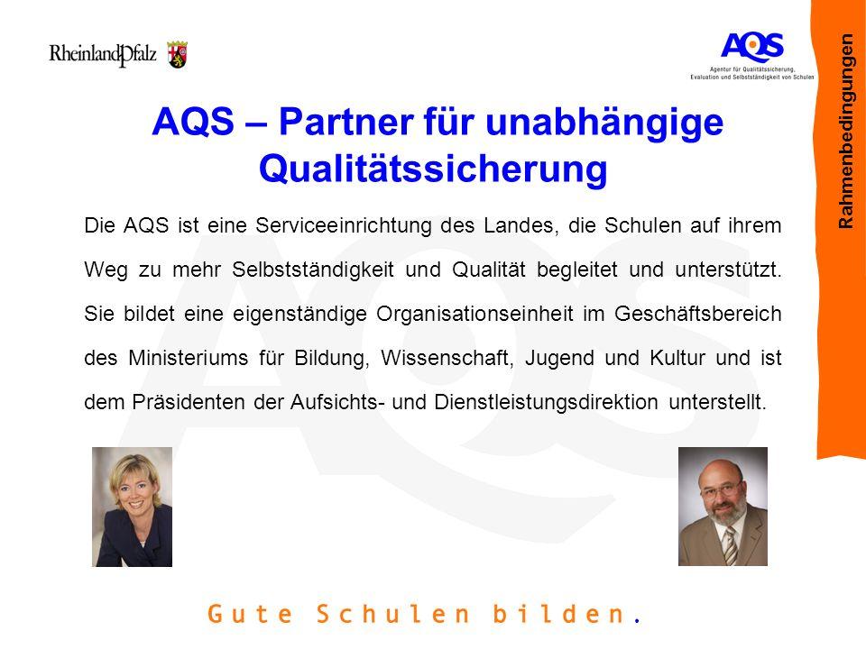 AQS – Partner für unabhängige Qualitätssicherung