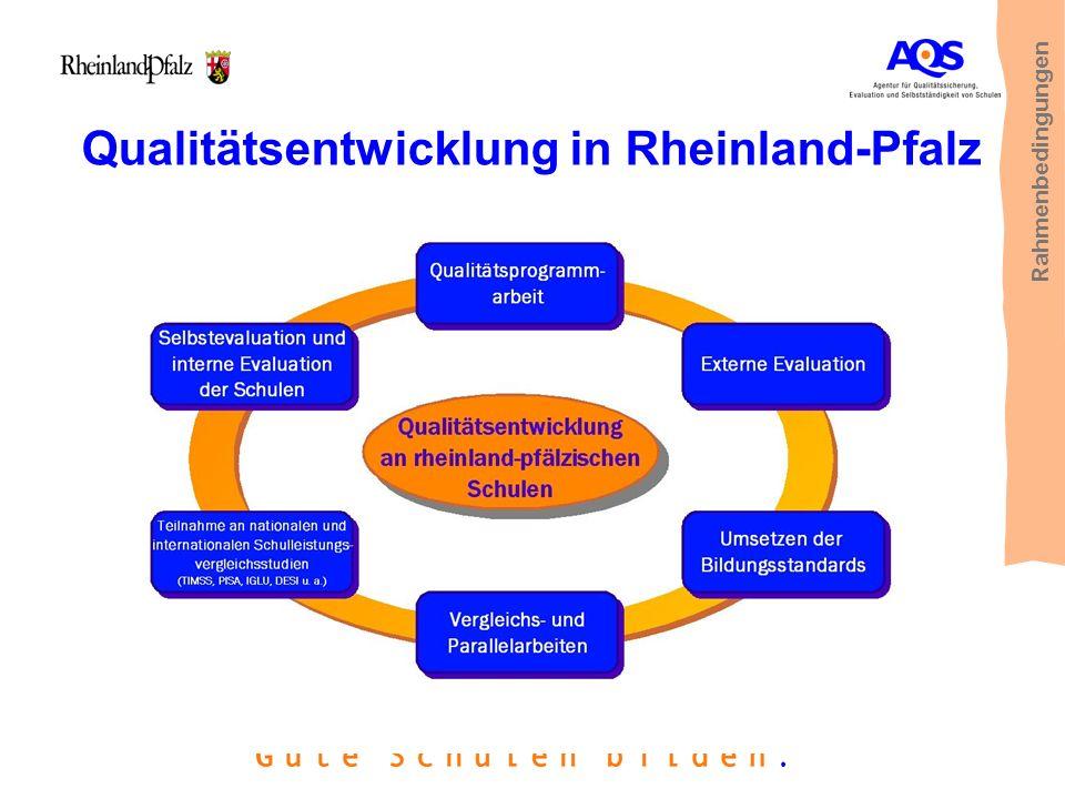 Qualitätsentwicklung in Rheinland-Pfalz