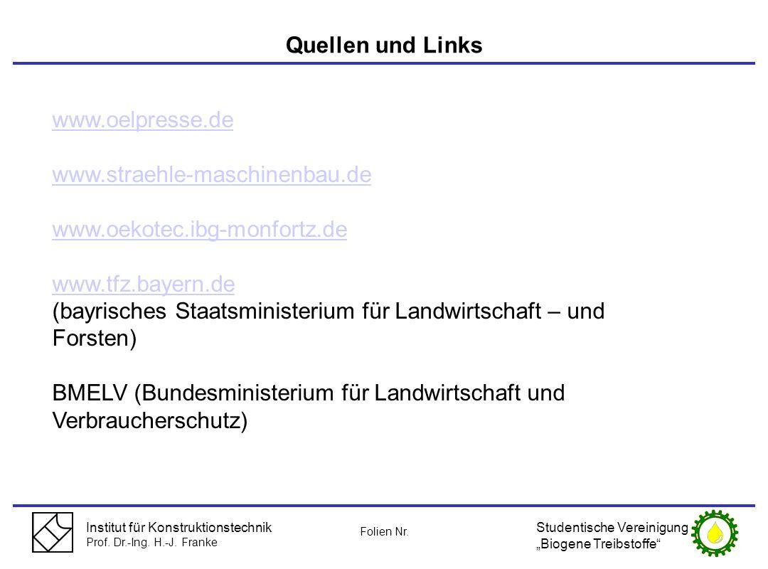 (bayrisches Staatsministerium für Landwirtschaft – und Forsten)