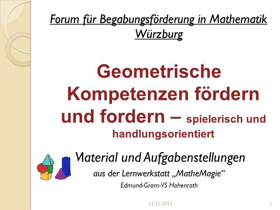 Forum für Begabungsförderung in Mathematik Würzburg