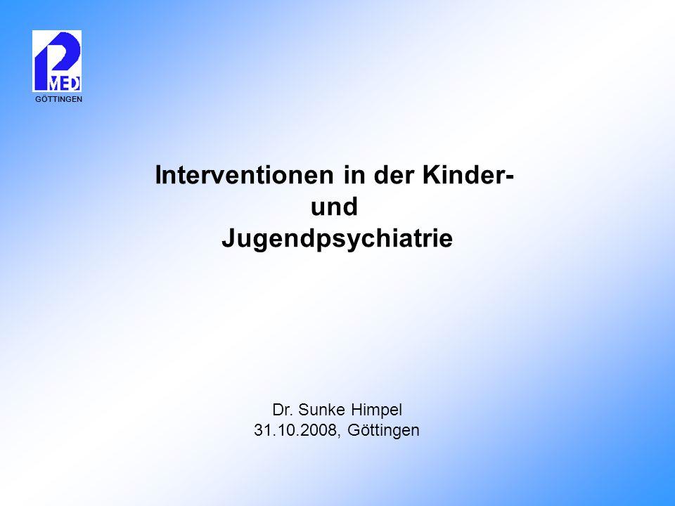 Interventionen in der Kinder-