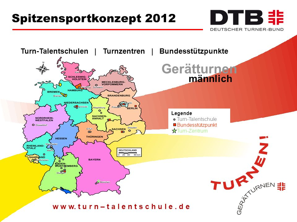 Gerätturnen Spitzensportkonzept 2012 männlich