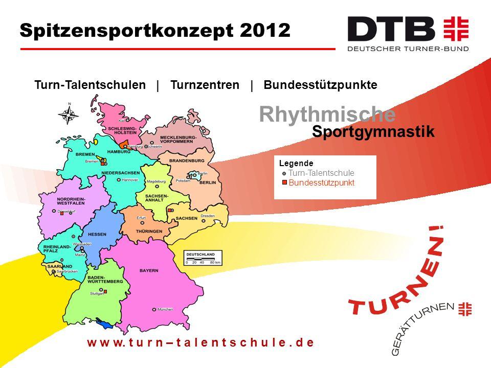 Rhythmische Spitzensportkonzept 2012 Sportgymnastik