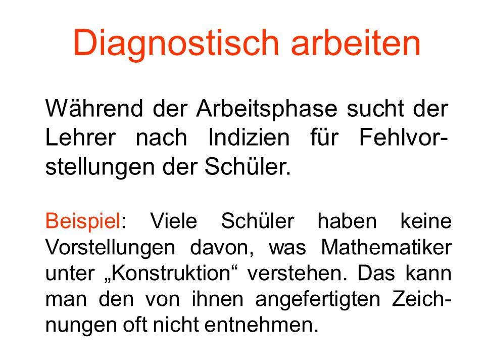 Diagnostisch arbeiten