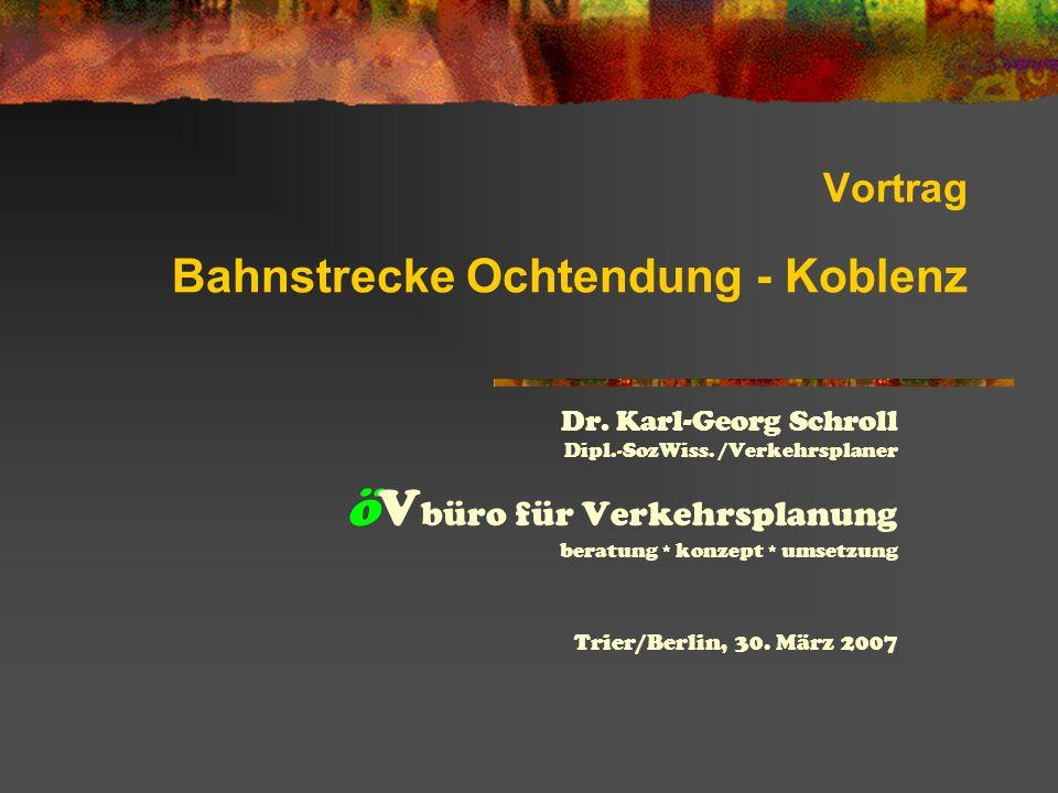 Vortrag Bahnstrecke Ochtendung - Koblenz