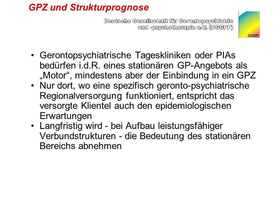GPZ und Strukturprognose