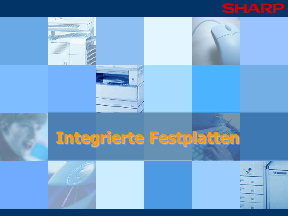 Integrierte Festplatten