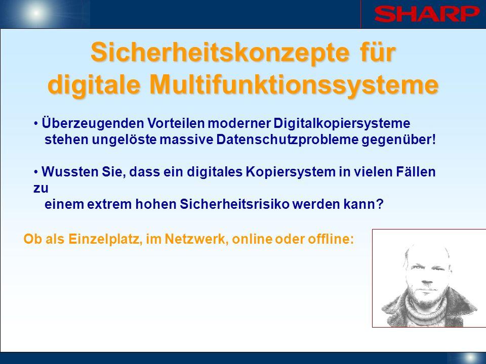 Sicherheitskonzepte für digitale Multifunktionssysteme