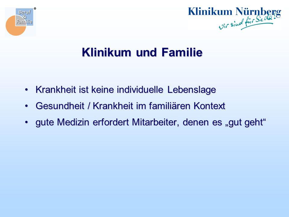 Klinikum und Familie Krankheit ist keine individuelle Lebenslage