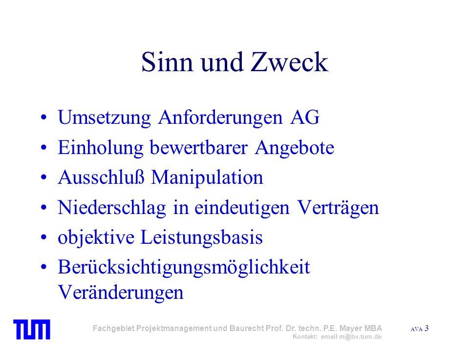 Sinn und Zweck Umsetzung Anforderungen AG