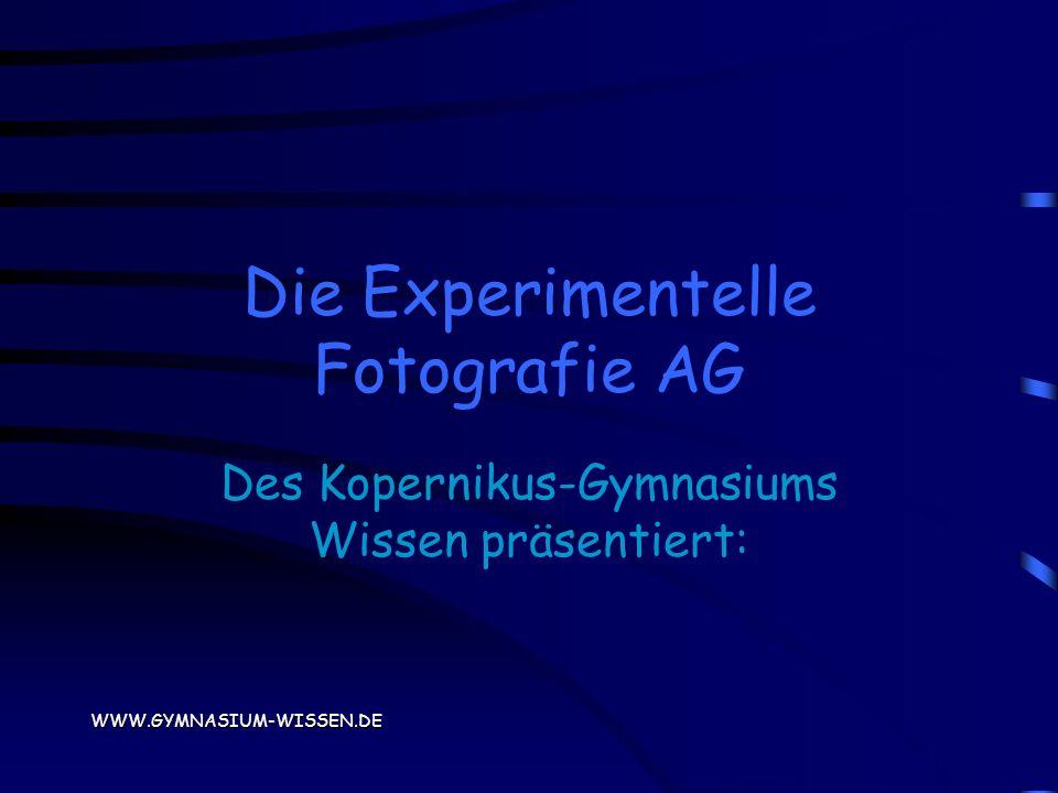 Die Experimentelle Fotografie AG