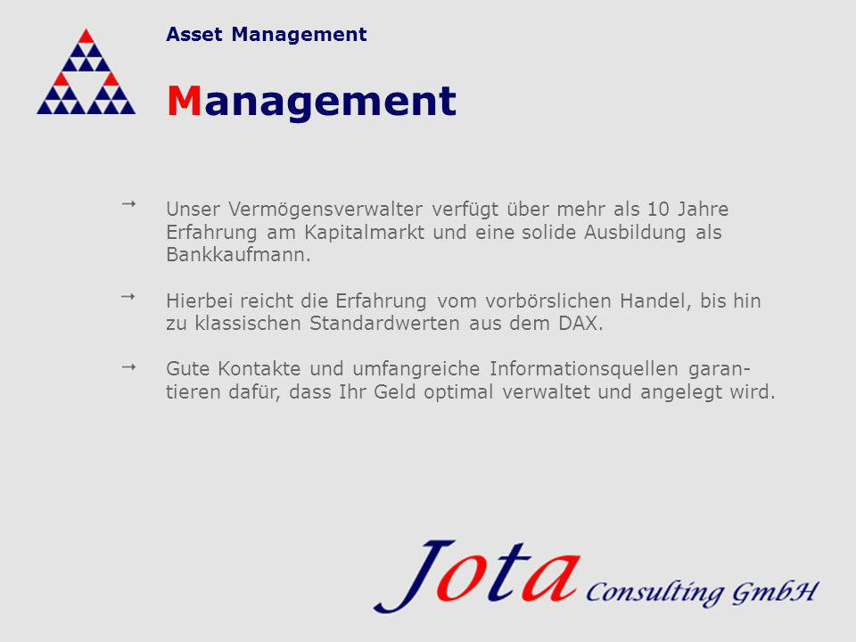 Management Asset Management