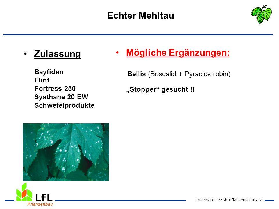 Zulassung Bayfidan Flint Fortress 250 Systhane 20 EW Schwefelprodukte