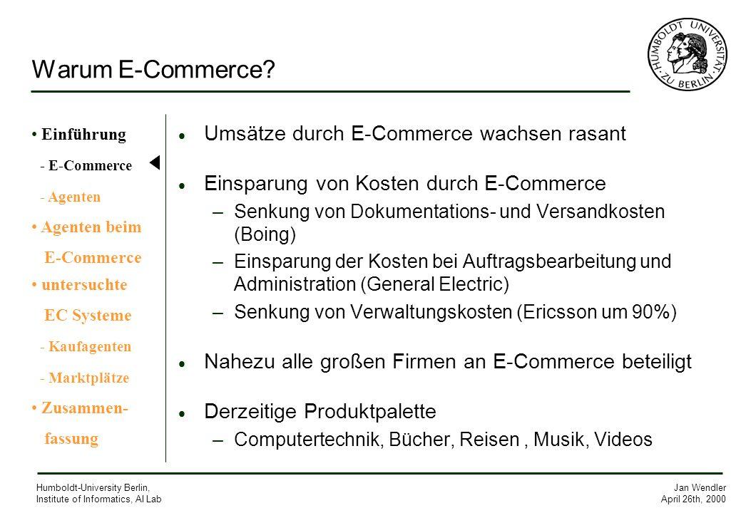 Warum E-Commerce Umsätze durch E-Commerce wachsen rasant