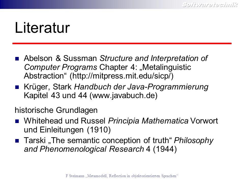 "LiteraturAbelson & Sussman Structure and Interpretation of Computer Programs Chapter 4: ""Metalinguistic Abstraction (http://mitpress.mit.edu/sicp/)"
