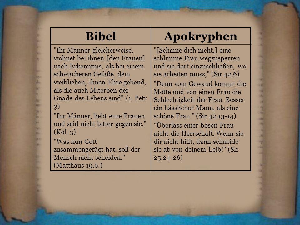 BibelApokryphen.