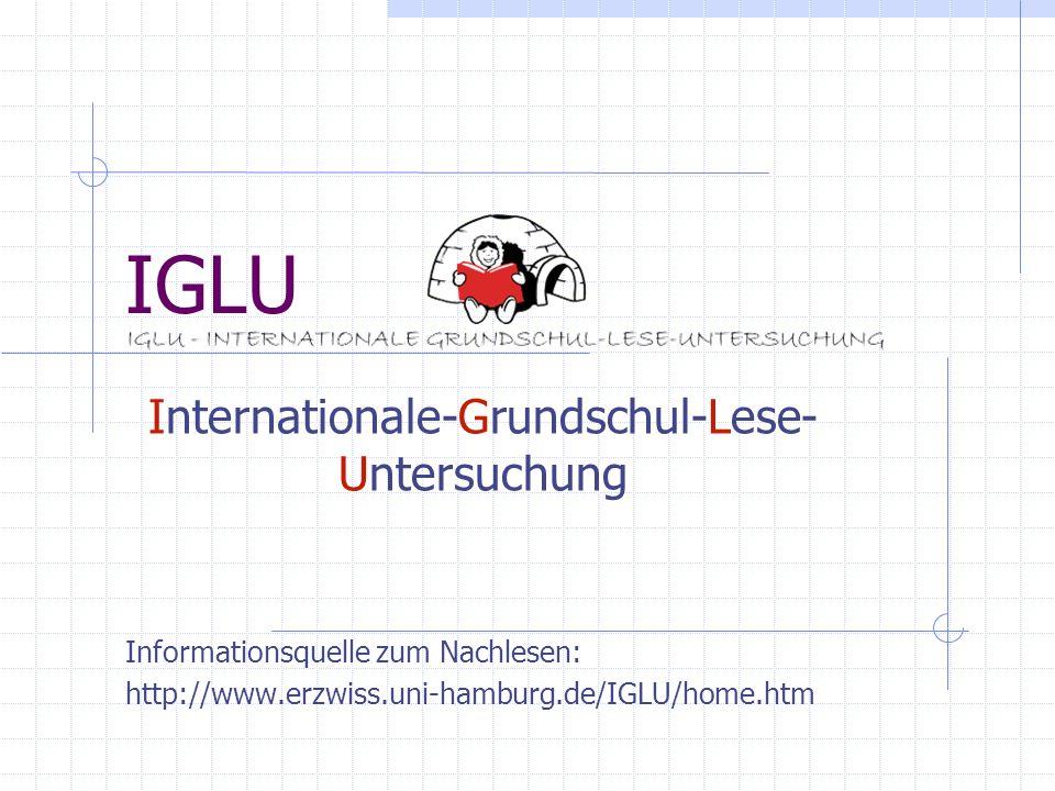 Internationale-Grundschul-Lese-Untersuchung