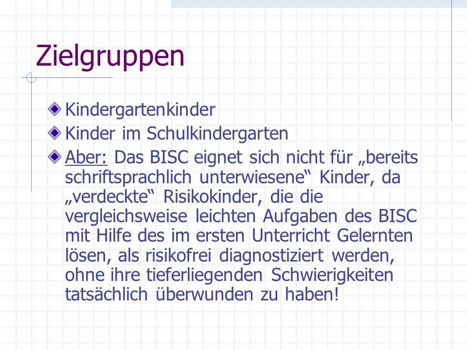 Zielgruppen Kindergartenkinder Kinder im Schulkindergarten