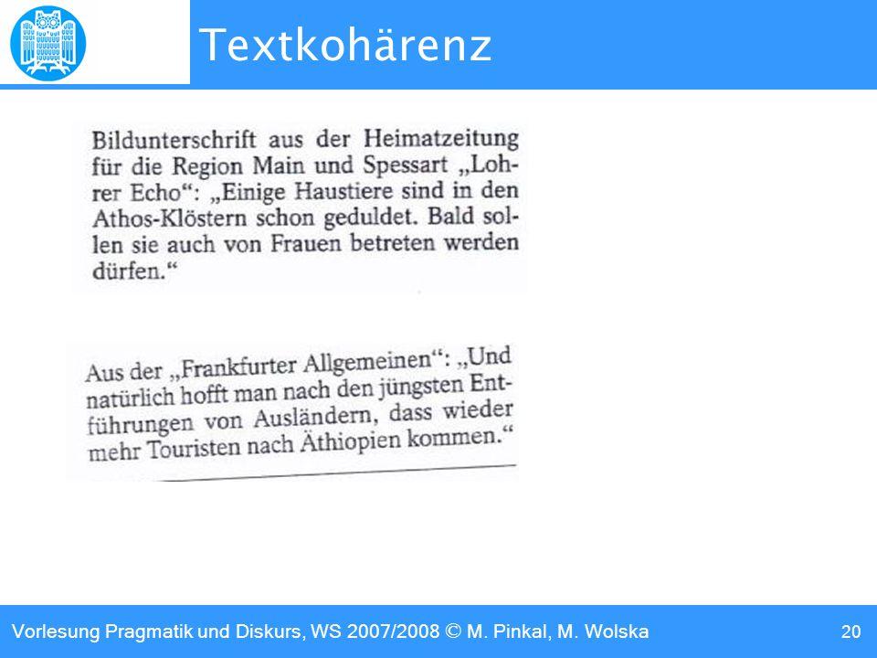 Textkohärenz