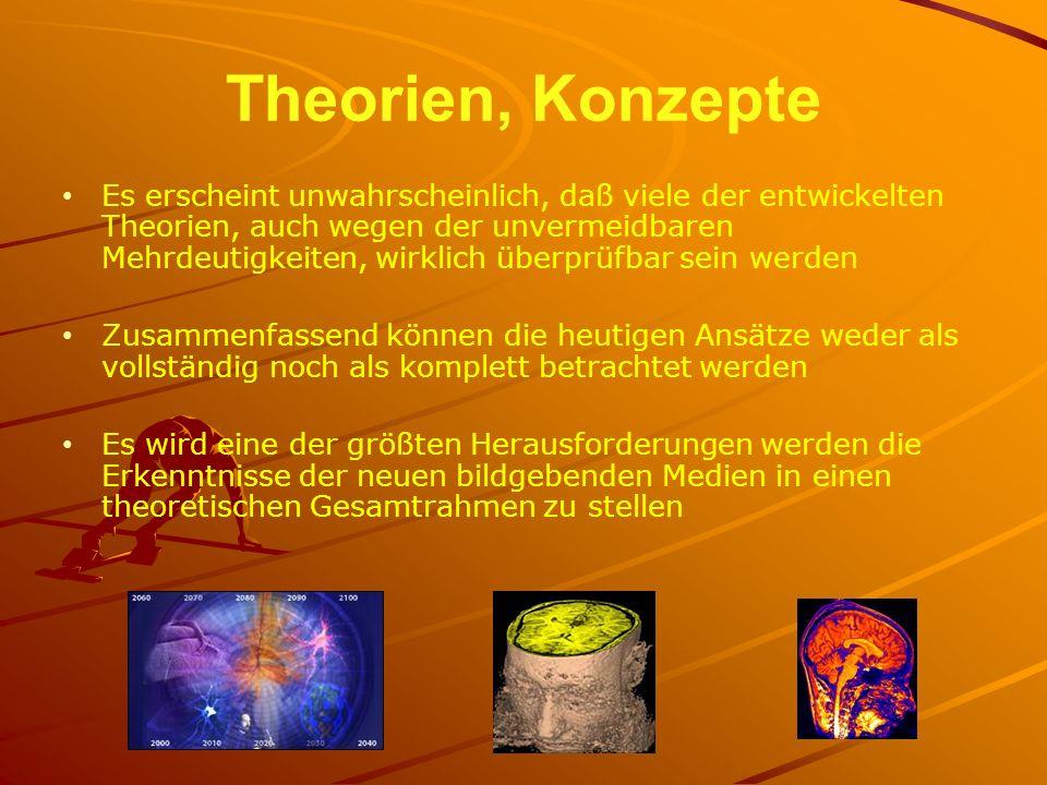 Theorien, Konzepte