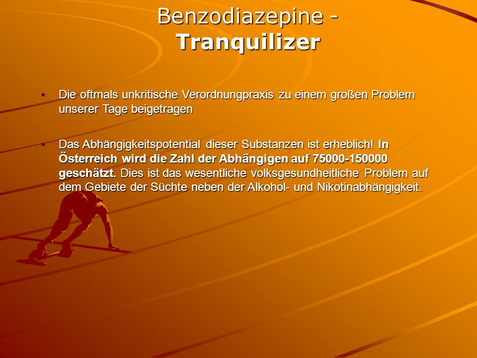 Benzodiazepine - Tranquilizer