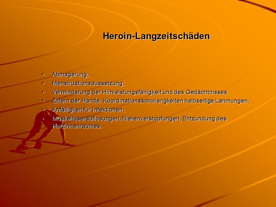 Heroin-Langzeitschäden