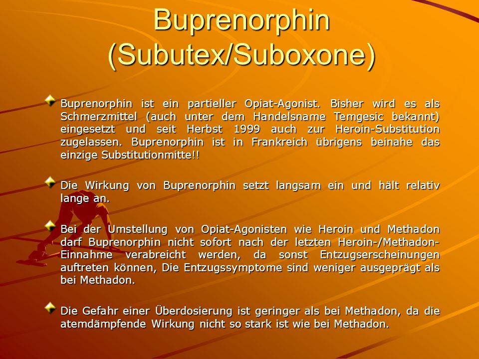 Buprenorphin (Subutex/Suboxone)