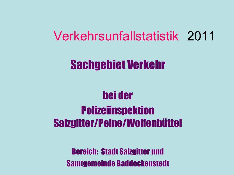 Verkehrsunfallstatistik 2011
