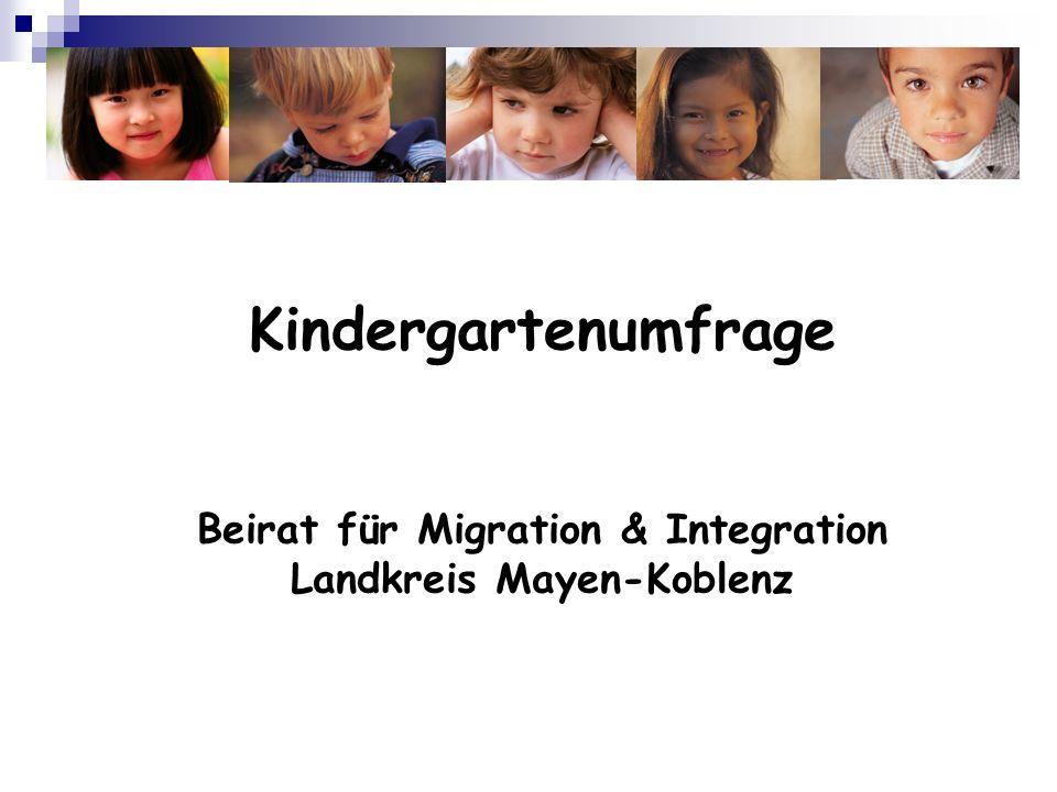 Beirat für Migration & Integration Landkreis Mayen-Koblenz