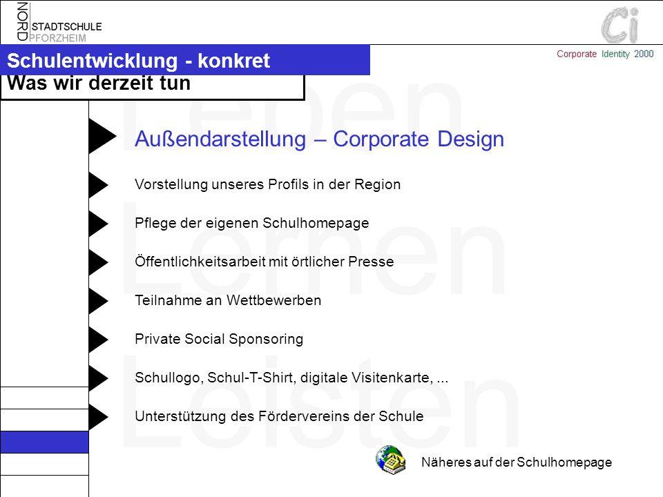 Außendarstellung – Corporate Design