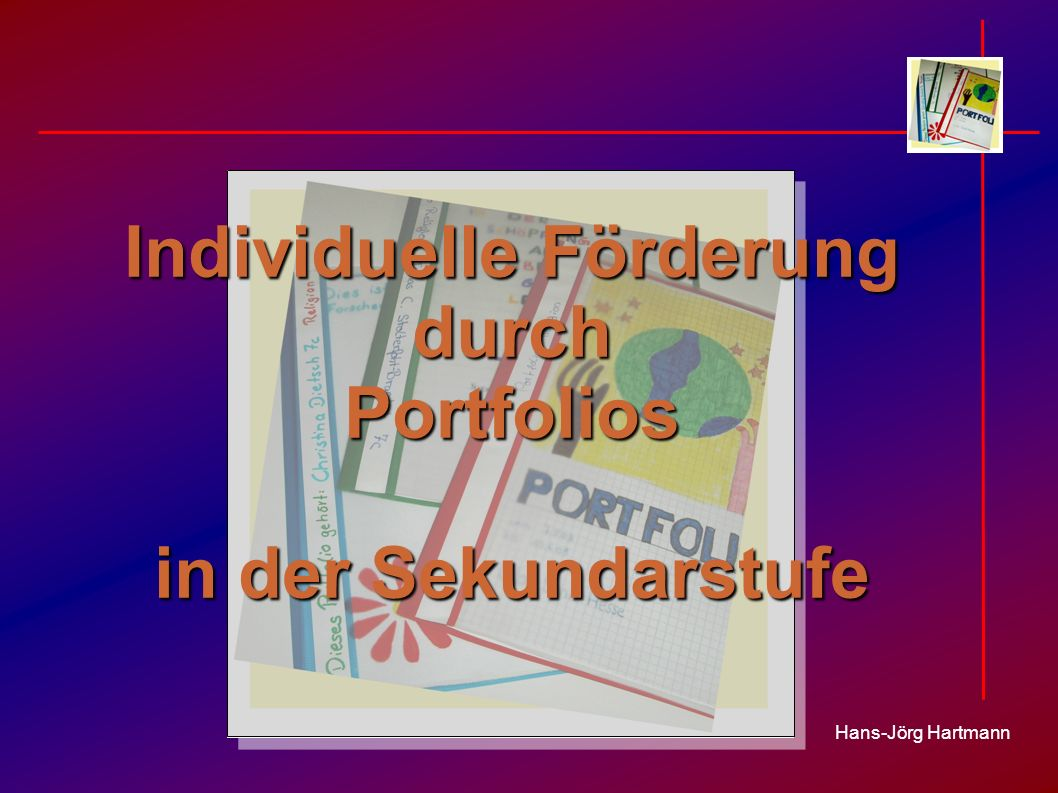 Individuelle Förderung durch Portfolios in der Sekundarstufe