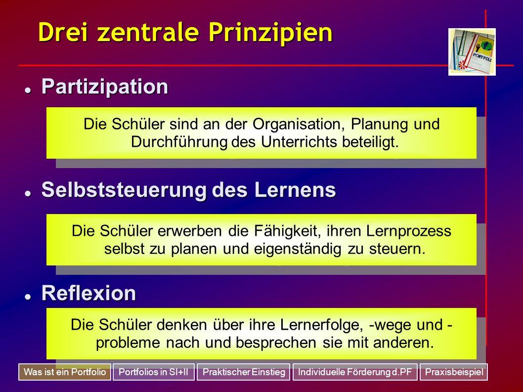 Drei zentrale Prinzipien