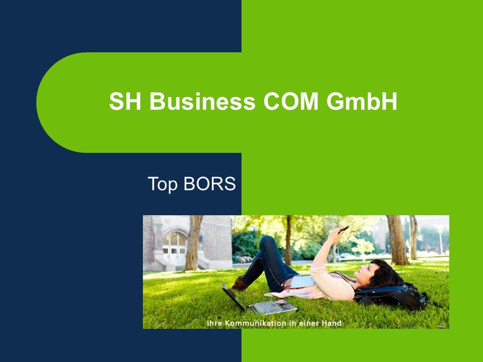 SH Business COM GmbH Top BORS