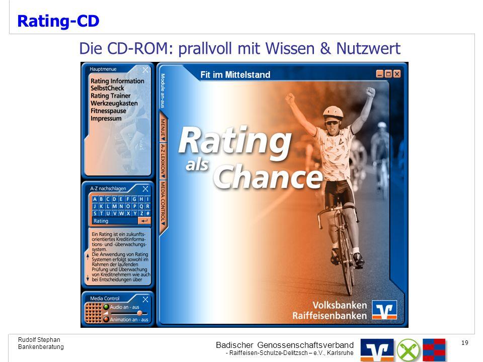 Rating-CD Die CD-ROM: prallvoll mit Wissen & Nutzwert