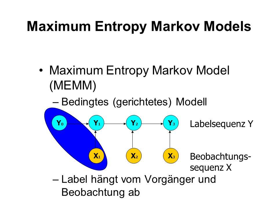 Maximum Entropy Markov Models