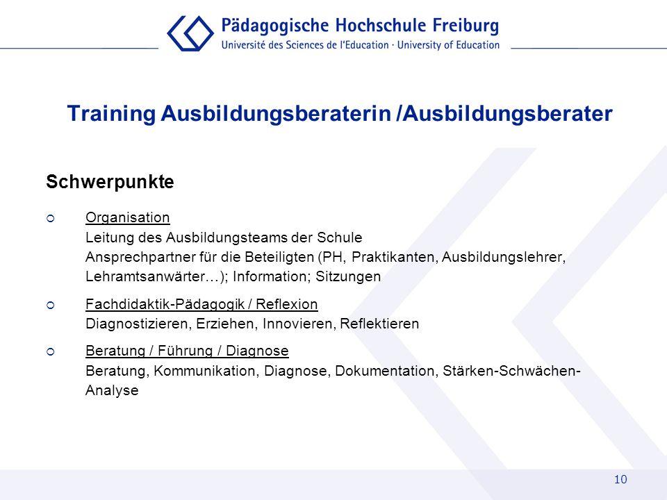 Training Ausbildungsberaterin /Ausbildungsberater