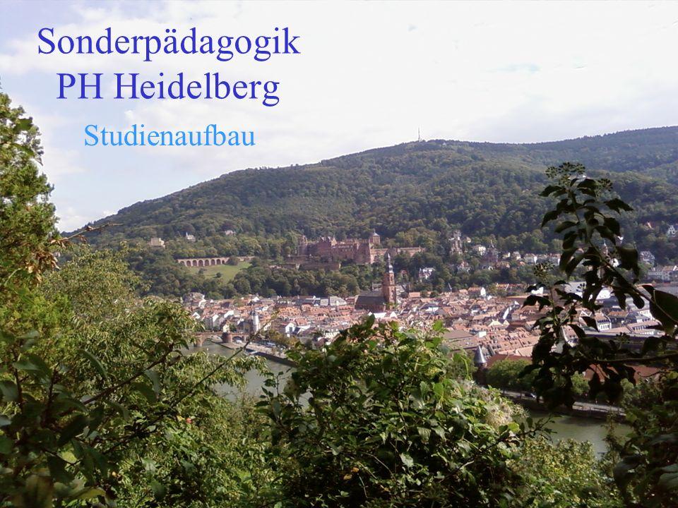 Sonderpädagogik PH Heidelberg