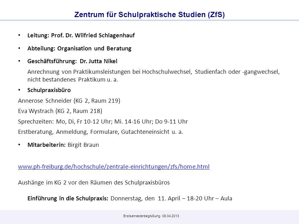 Zentrum für Schulpraktische Studien (ZfS)