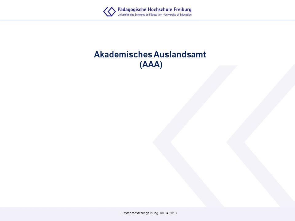 Akademisches Auslandsamt (AAA)