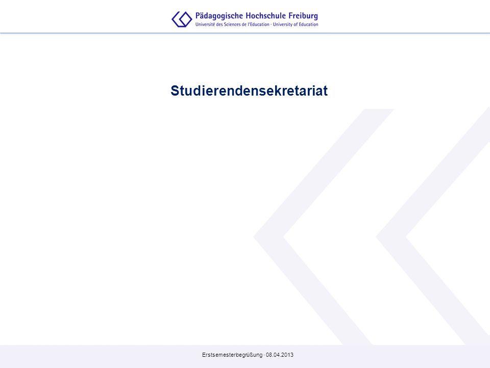 Studierendensekretariat
