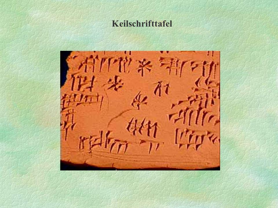 Keilschrifttafel