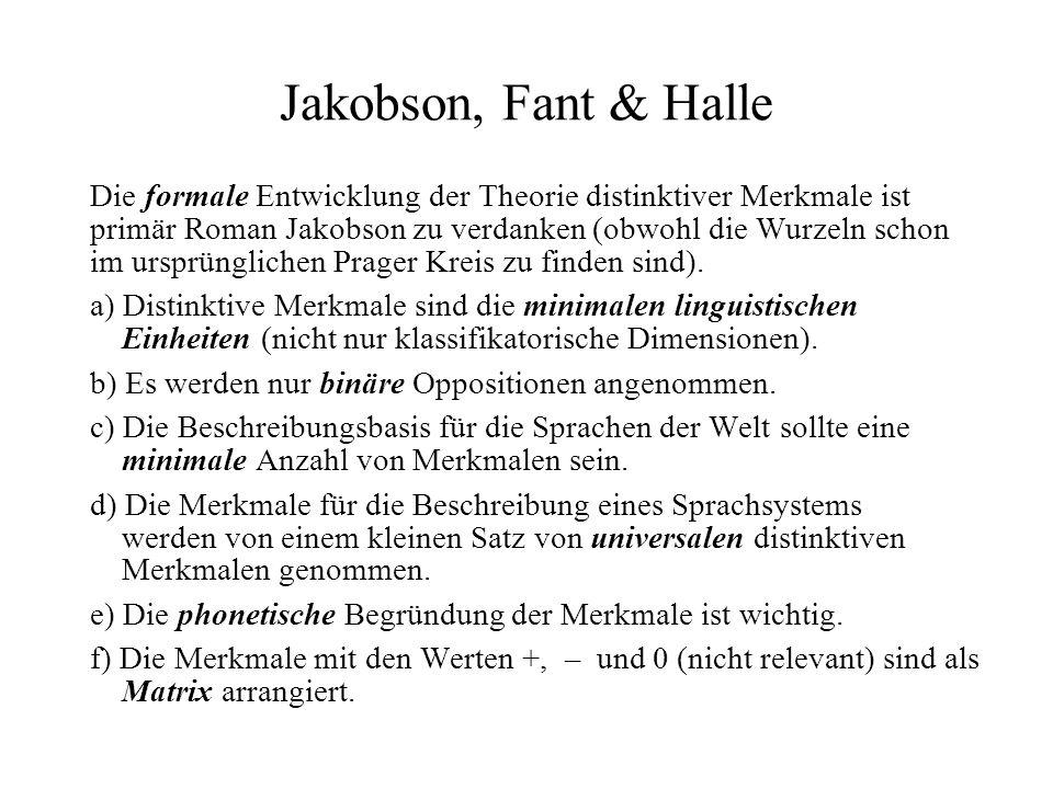 Jakobson, Fant & Halle