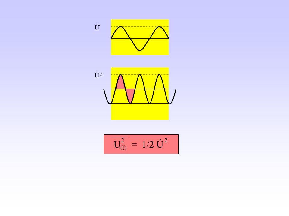 Û Û2 U(t) = 1/2 Û 2