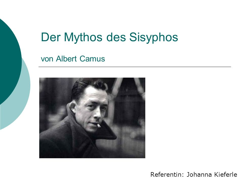 Der Mythos des Sisyphos von Albert Camus