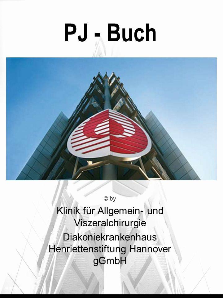 PJ - Buch Klinik für Allgemein- und Viszeralchirurgie