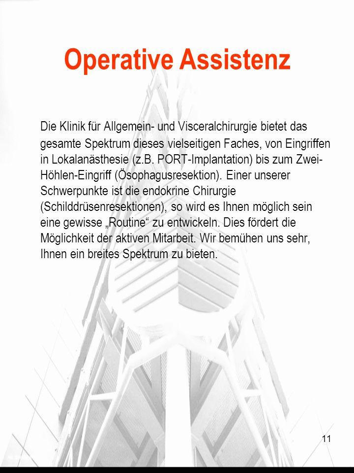 Operative Assistenz