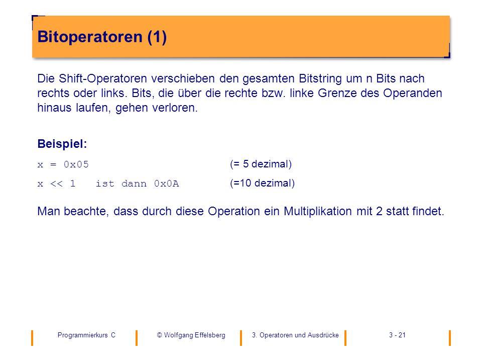 Bitoperatoren (1)