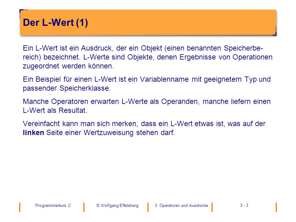 Der L-Wert (1)