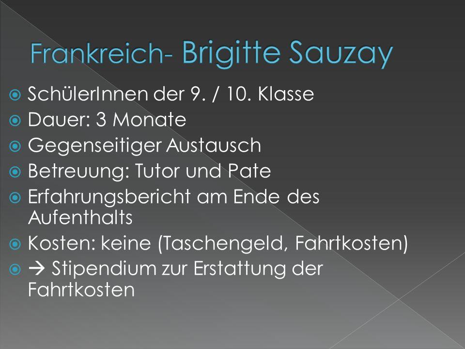 Frankreich- Brigitte Sauzay